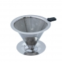 Filtro Coador de Café de Aço Inox Premium 102