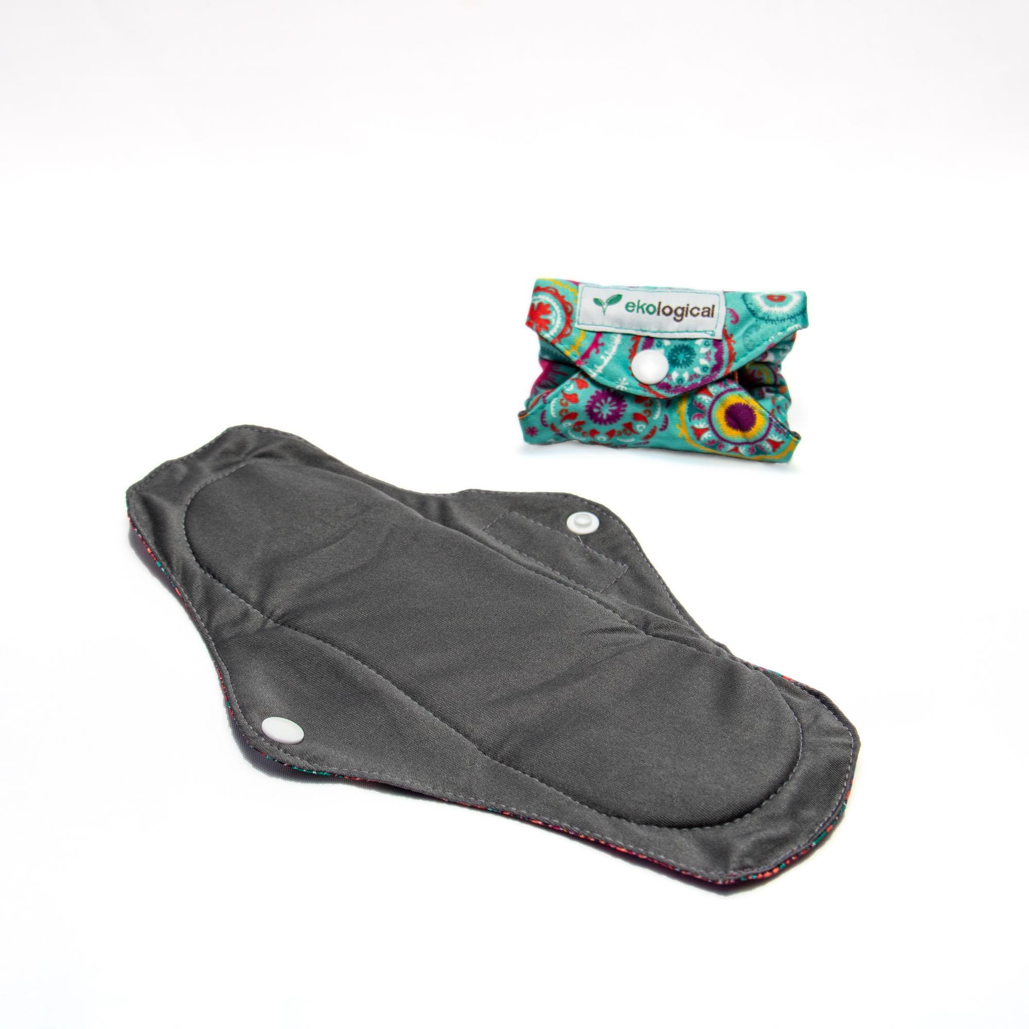 Absorvente Menstrual de Pano Reutilizável Círculos