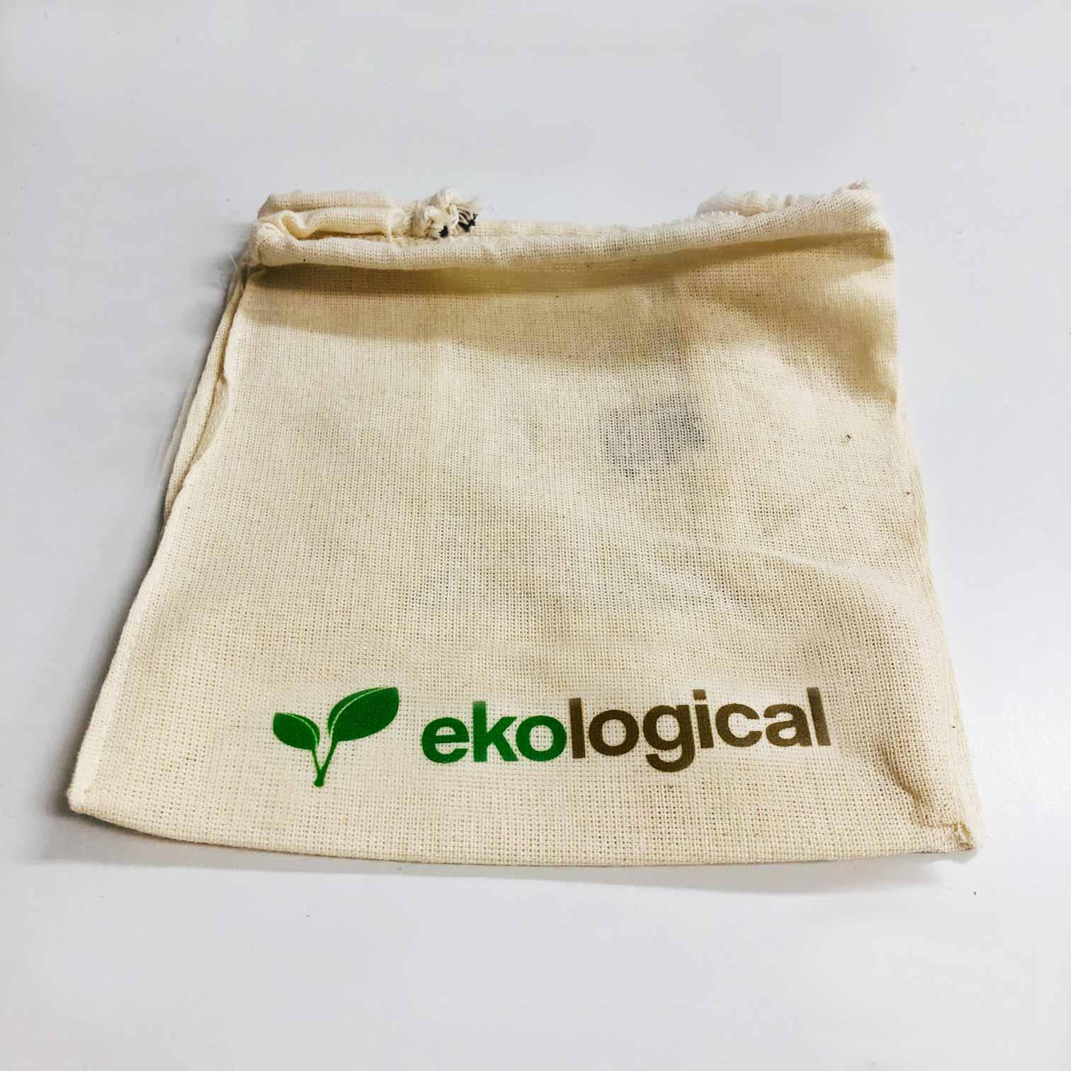 Bolsa Porta Copo Ecológica de Algodão