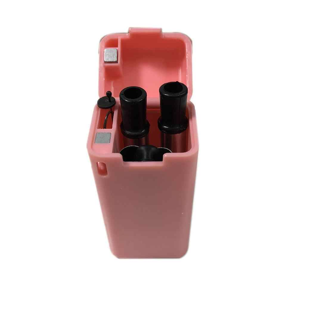 Canudo Inox Dobravel Retratil Rosa