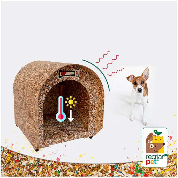 Casinha Ecológica para Pets