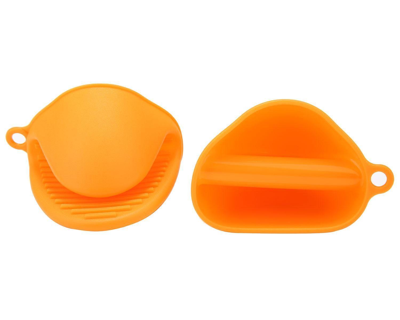 Conjunto de Luvas de Silicone de Forno Laranja (1 par)