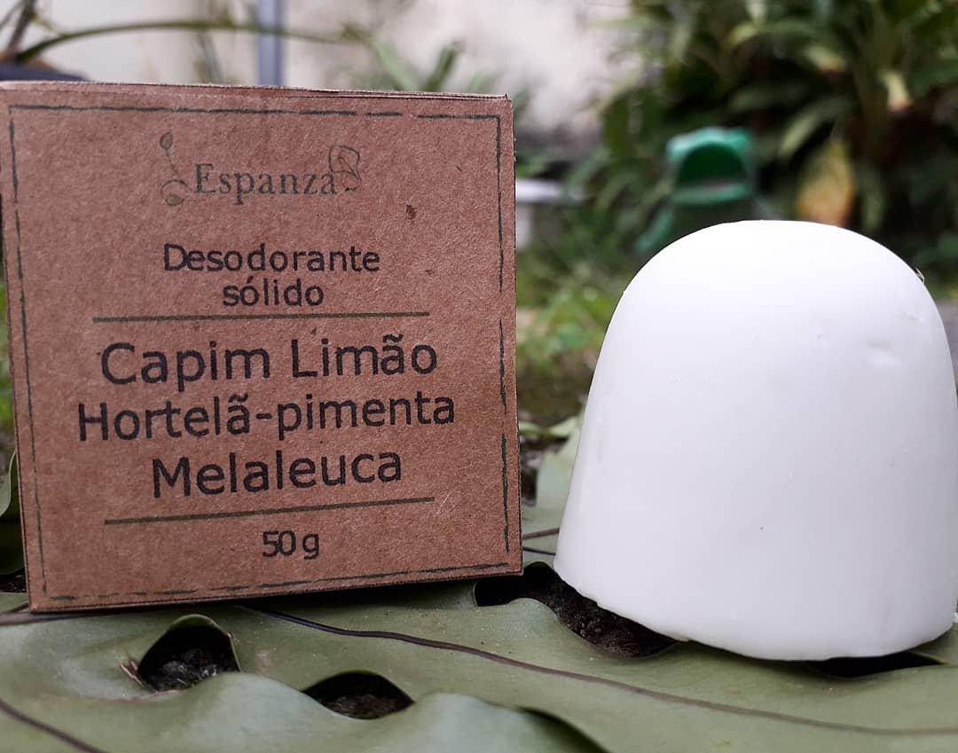 Desodorante Sólido Natural