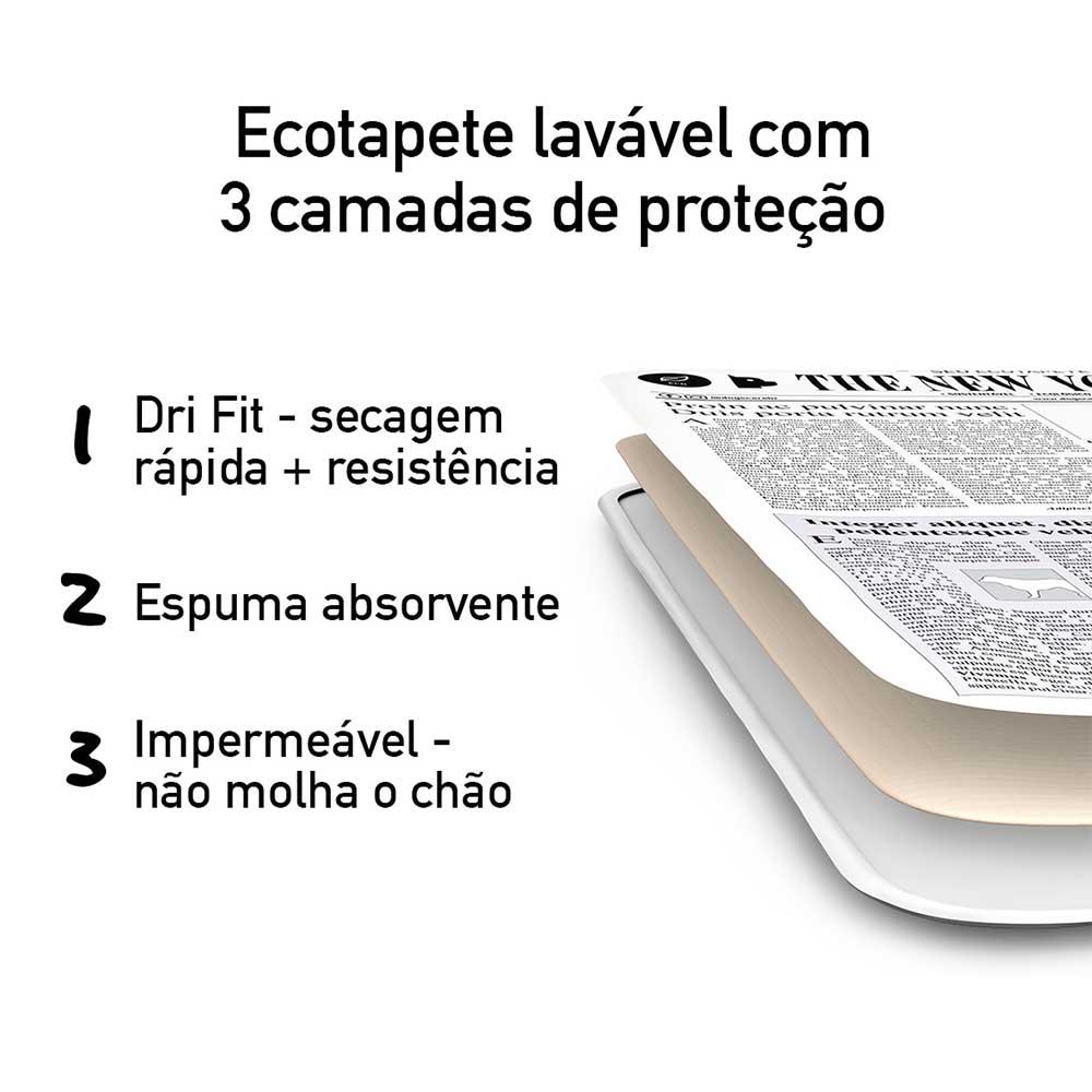 Ecotapete Premium Higiênico Lavável Cães