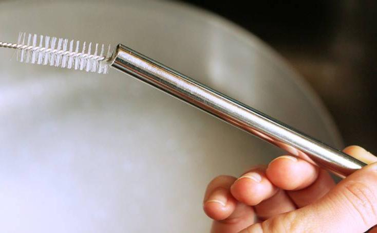 Escova De Limpeza Para Canudos