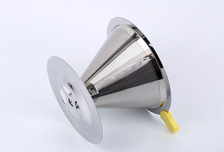 Filtro Coador de Café de Aço Inox Premium