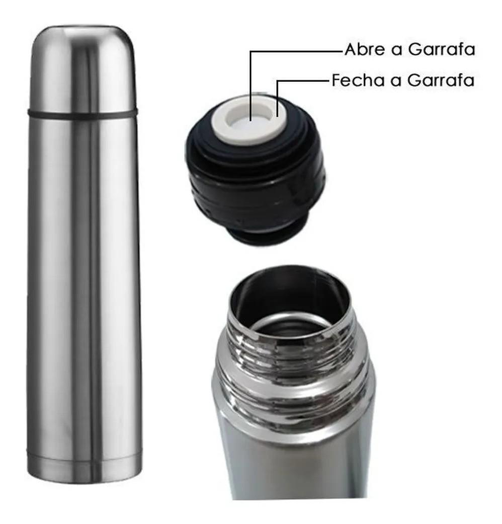 Garrafa Térmica de Inox Café 500ml