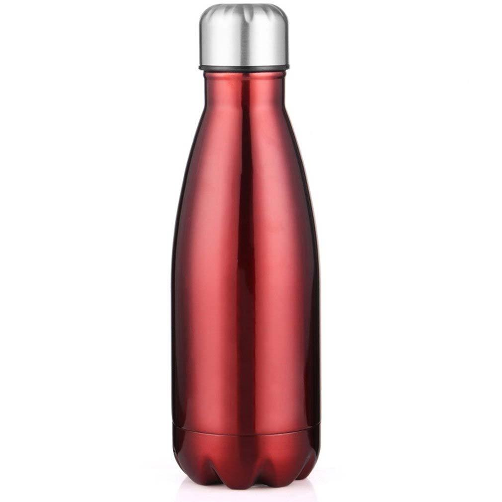 Garrafa Térmica de Inox Parede Dupla 500ml Vermelha