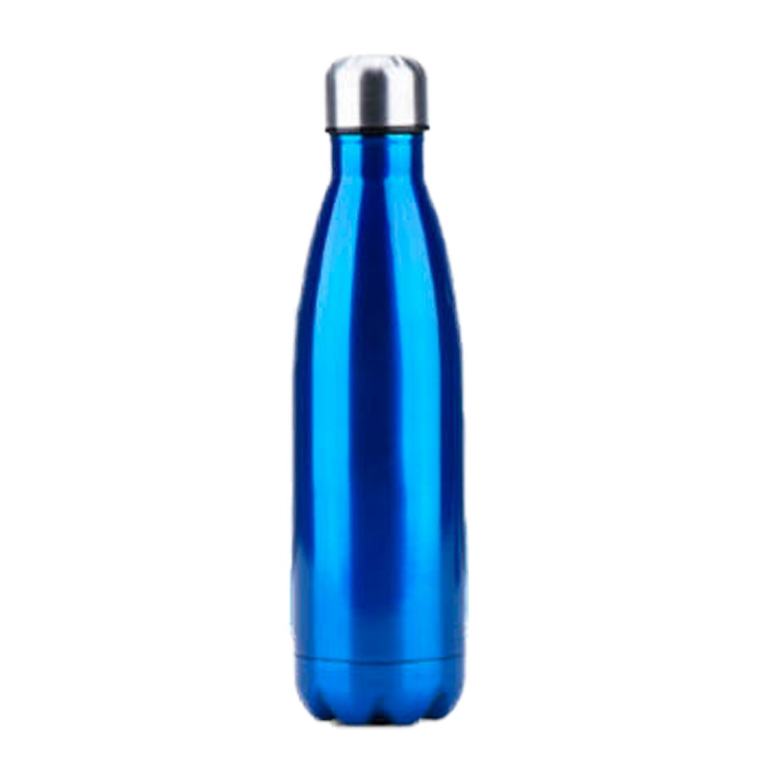 Garrafa Térmica de Inox Parede Dupla 750ml Azul