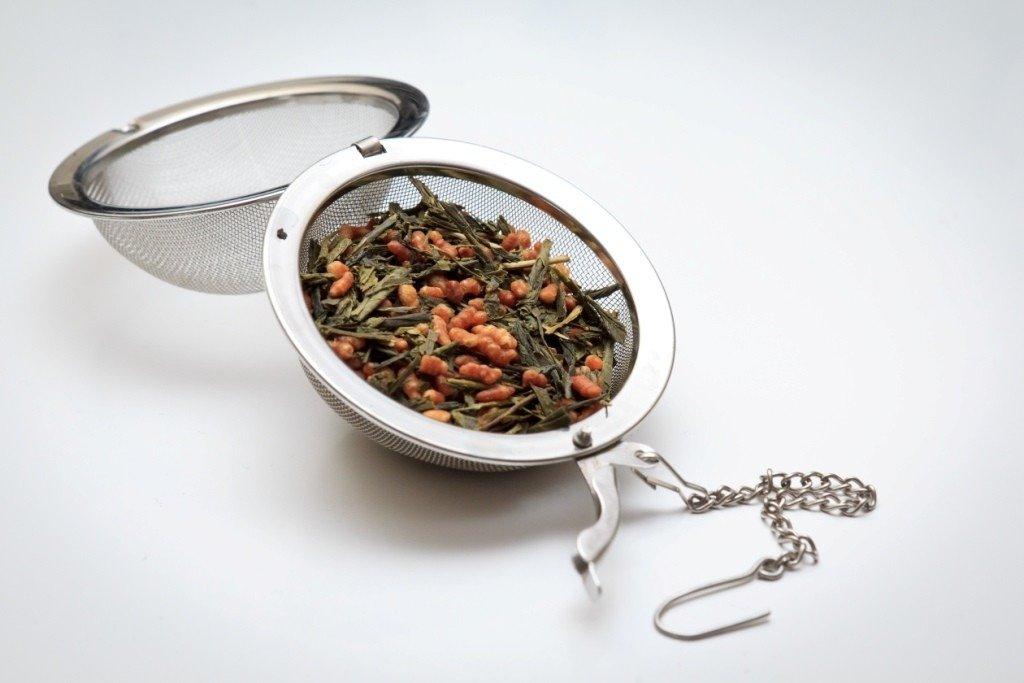 Infusor de Chá de Inox com Corrente