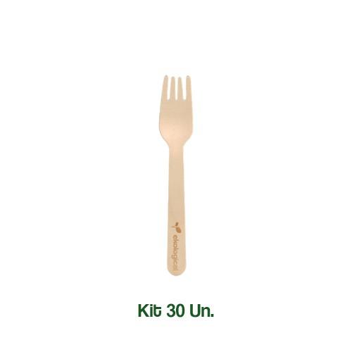 Kit 30 Garfos Biodegradáveis Ecologicos