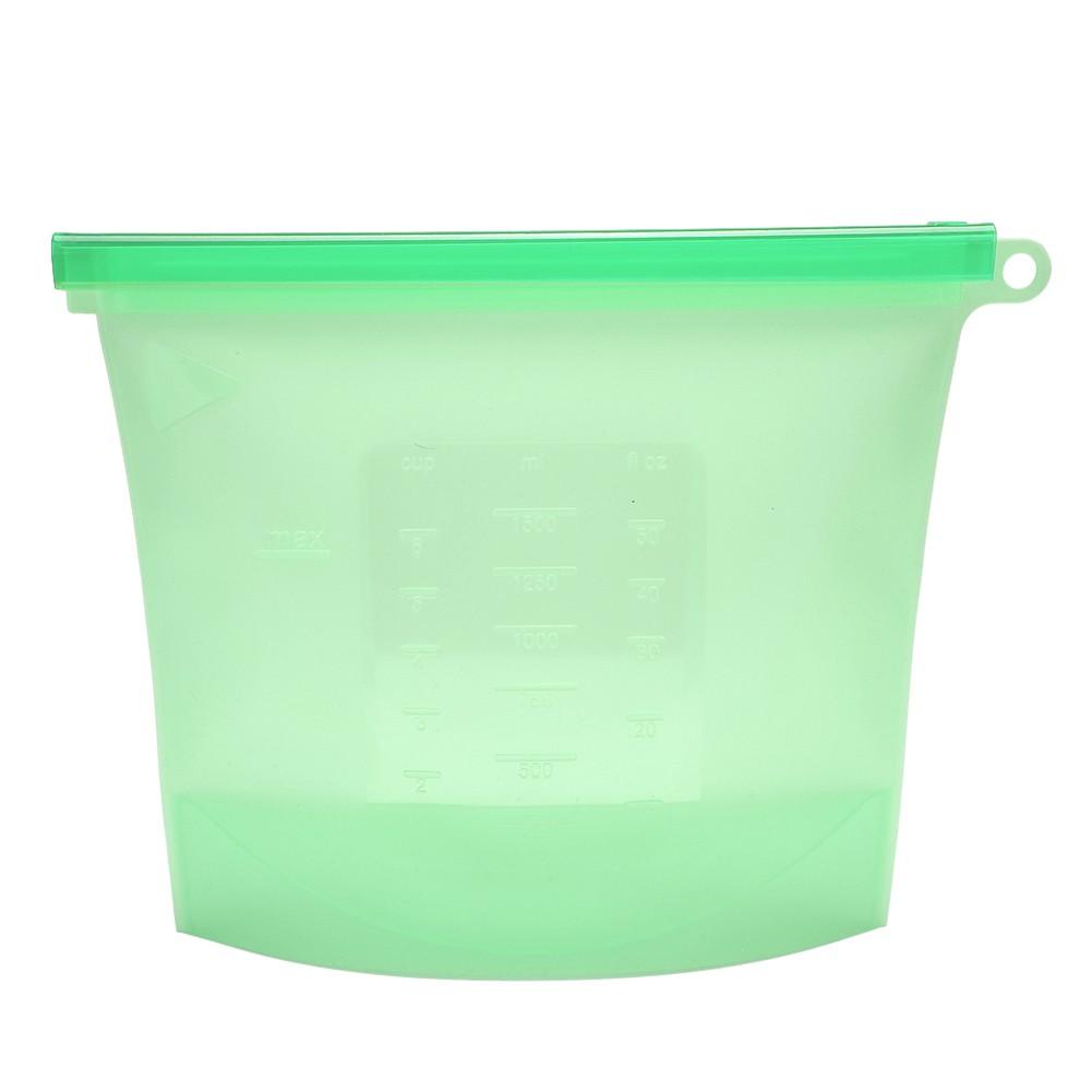 Kit 3 Sacos de Silicone Reutilizável 1000ml