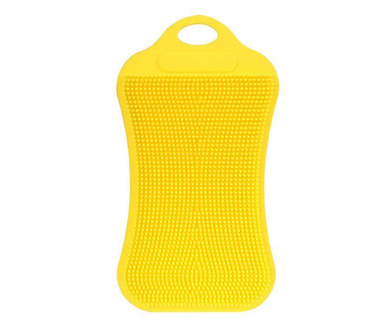 Kit c/ 3 Esponjas de Silicone Retangulares de Lavar Loucas