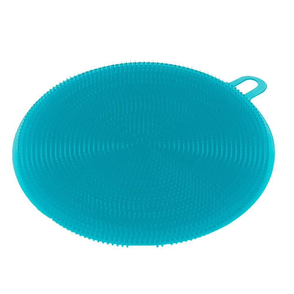 Kit c/ 3 Esponjas de Silicone Redondas