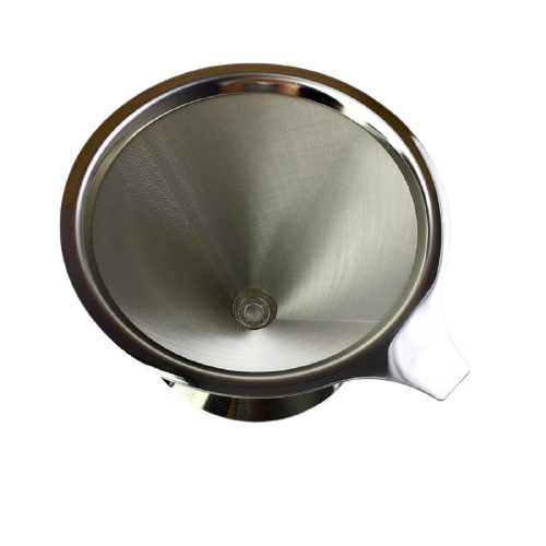 Kit com 2 Filtros de Café de Inox Premium 102