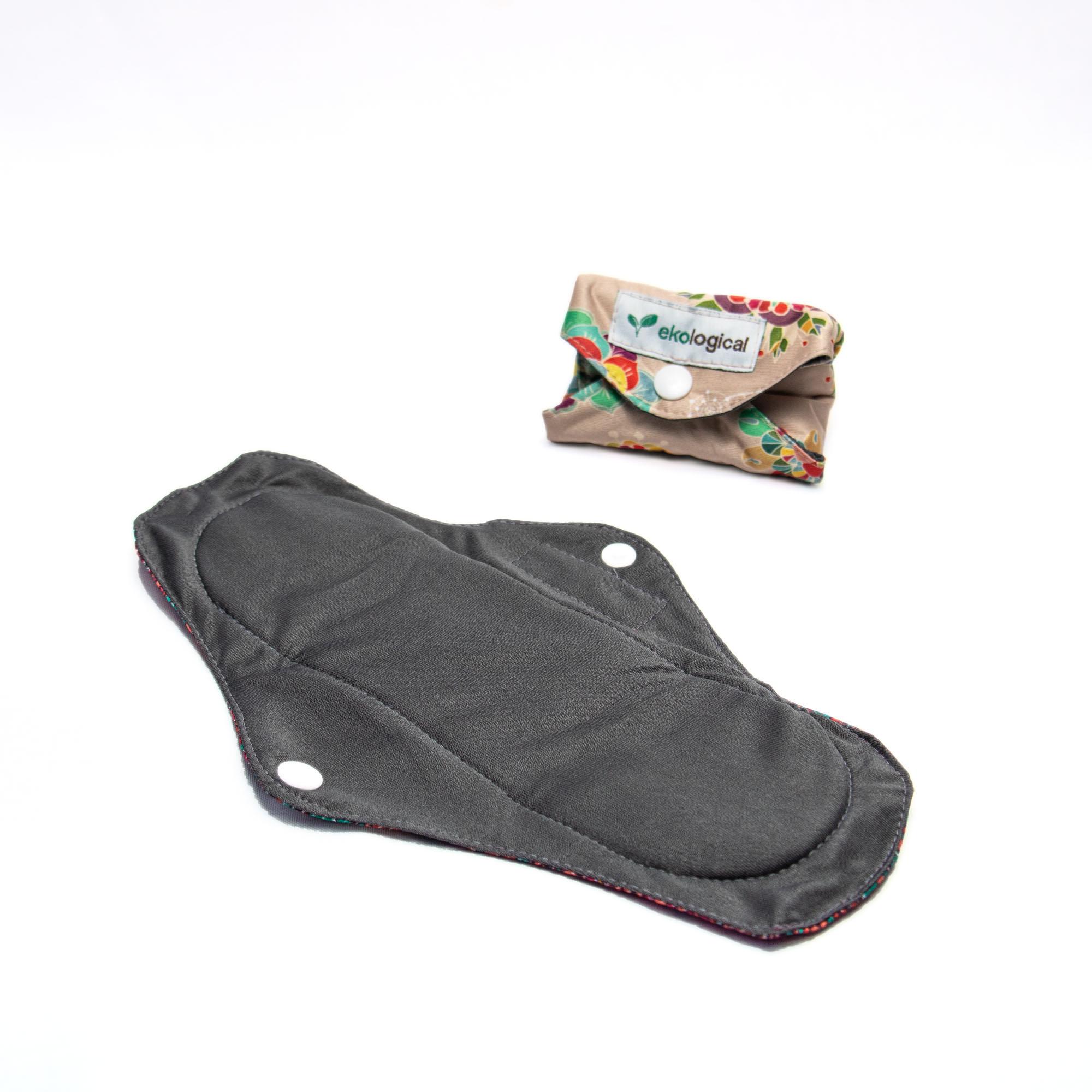 Kit de 7 Absorventes Menstruais de Pano Reutilizáveis