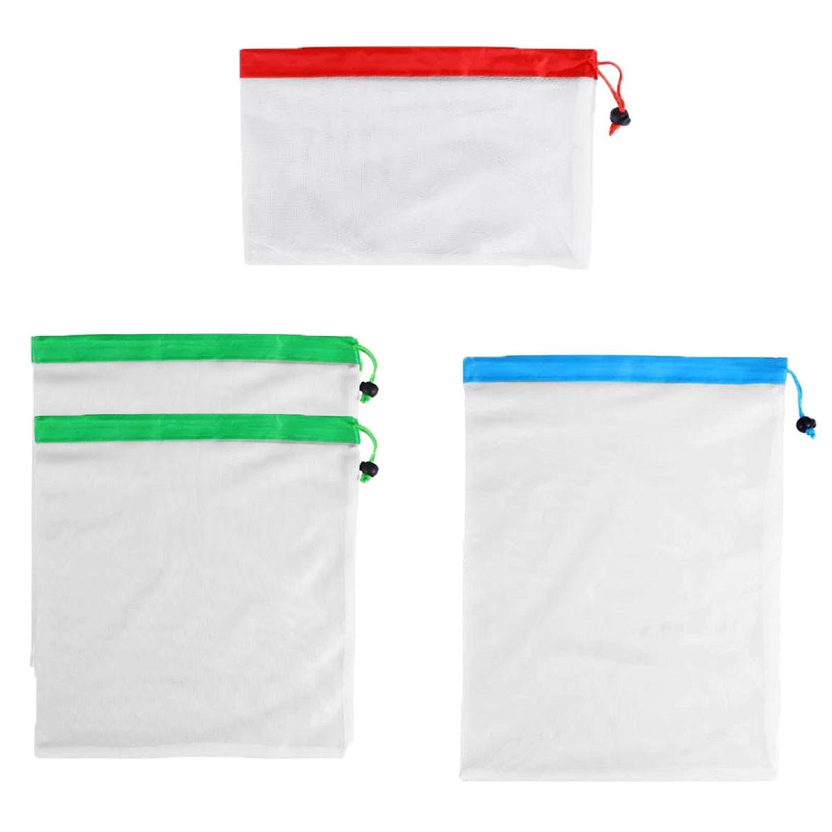 Kit de Ecobags Respiráveis (12 unidades)