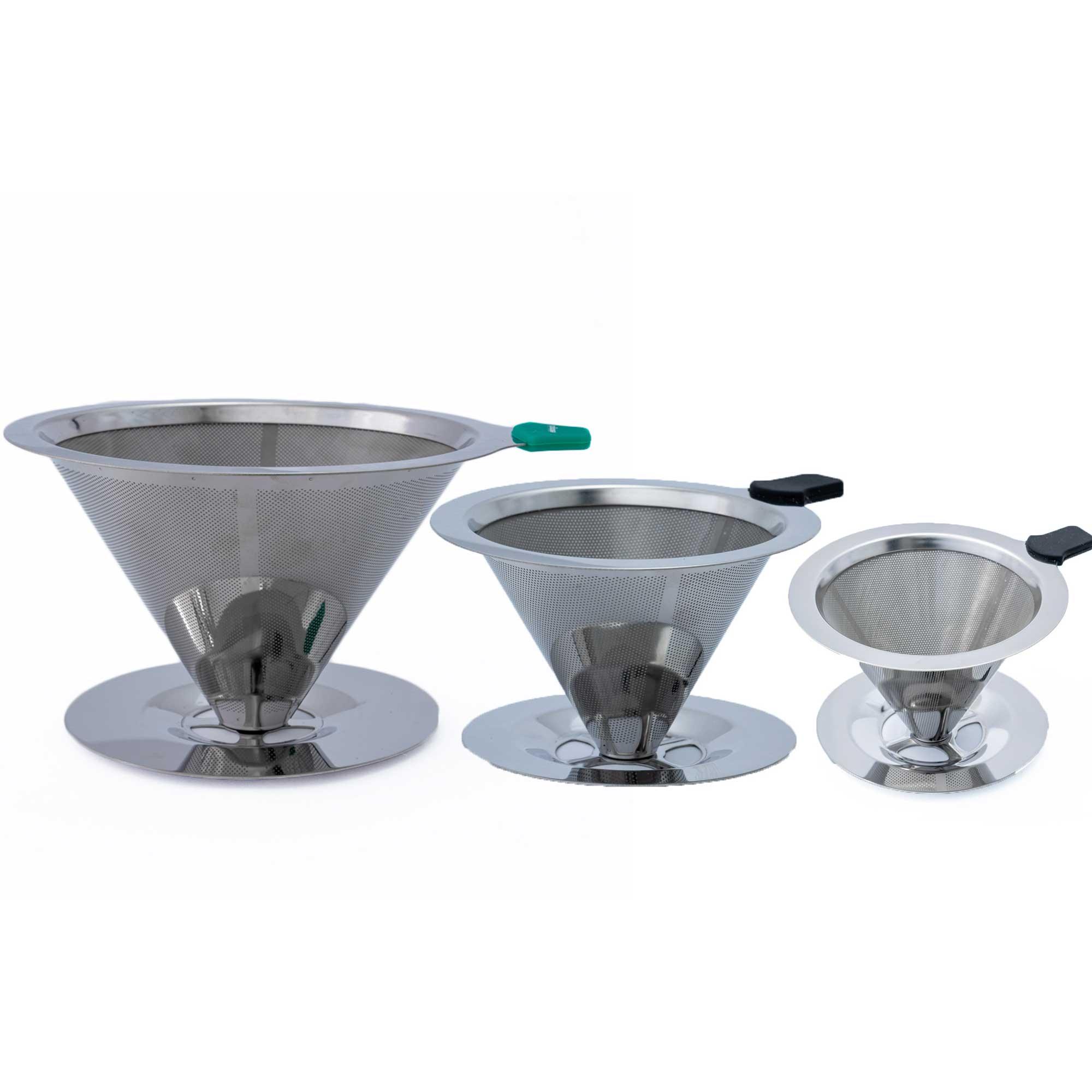 Kit Filtros Coador de Aço Inox