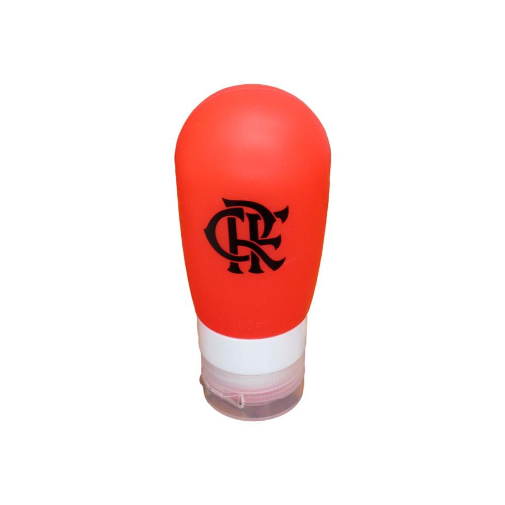Kit Frascos de Silicone do Flamengo 80ml