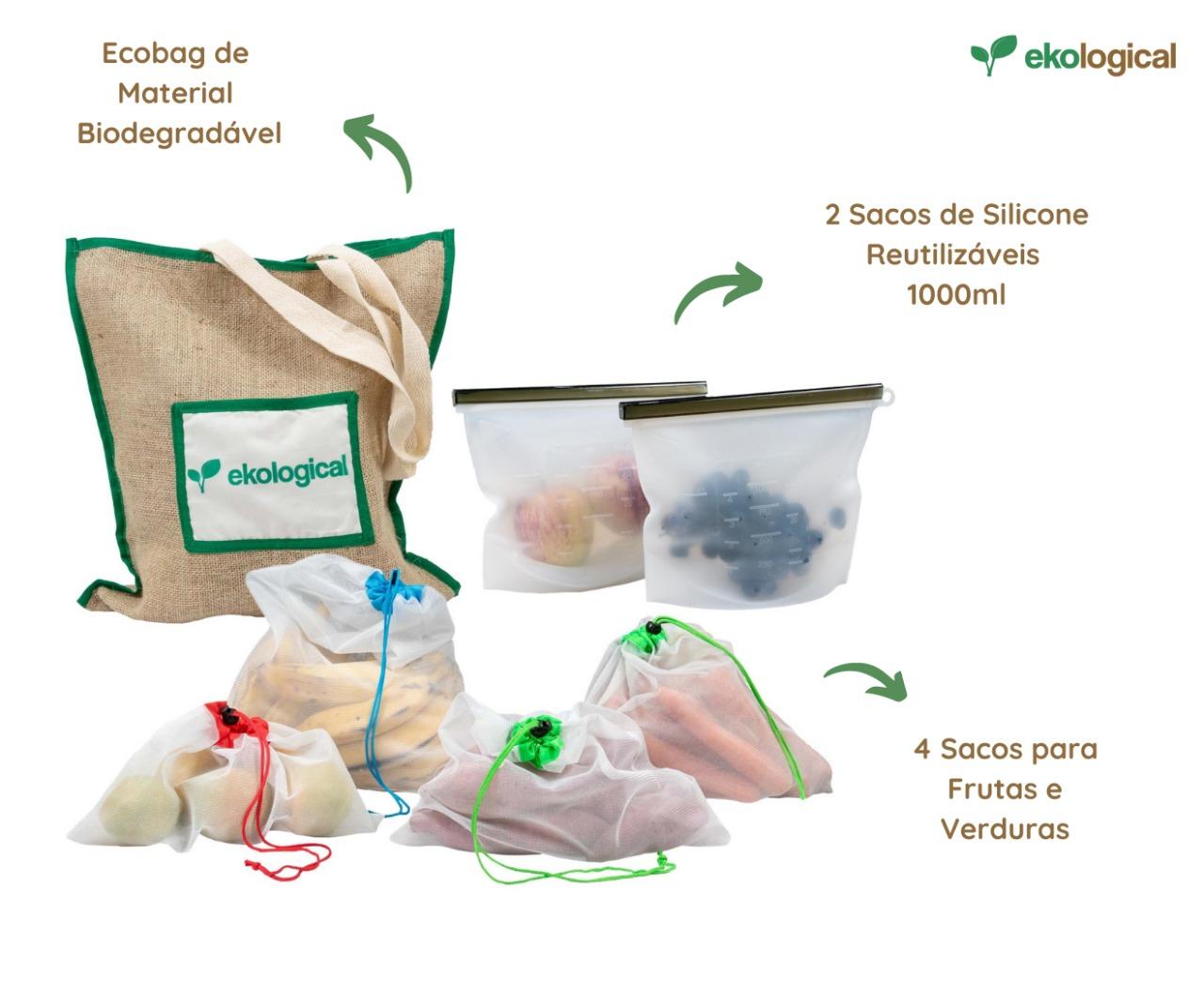 Kit Mercado Zero Lixo