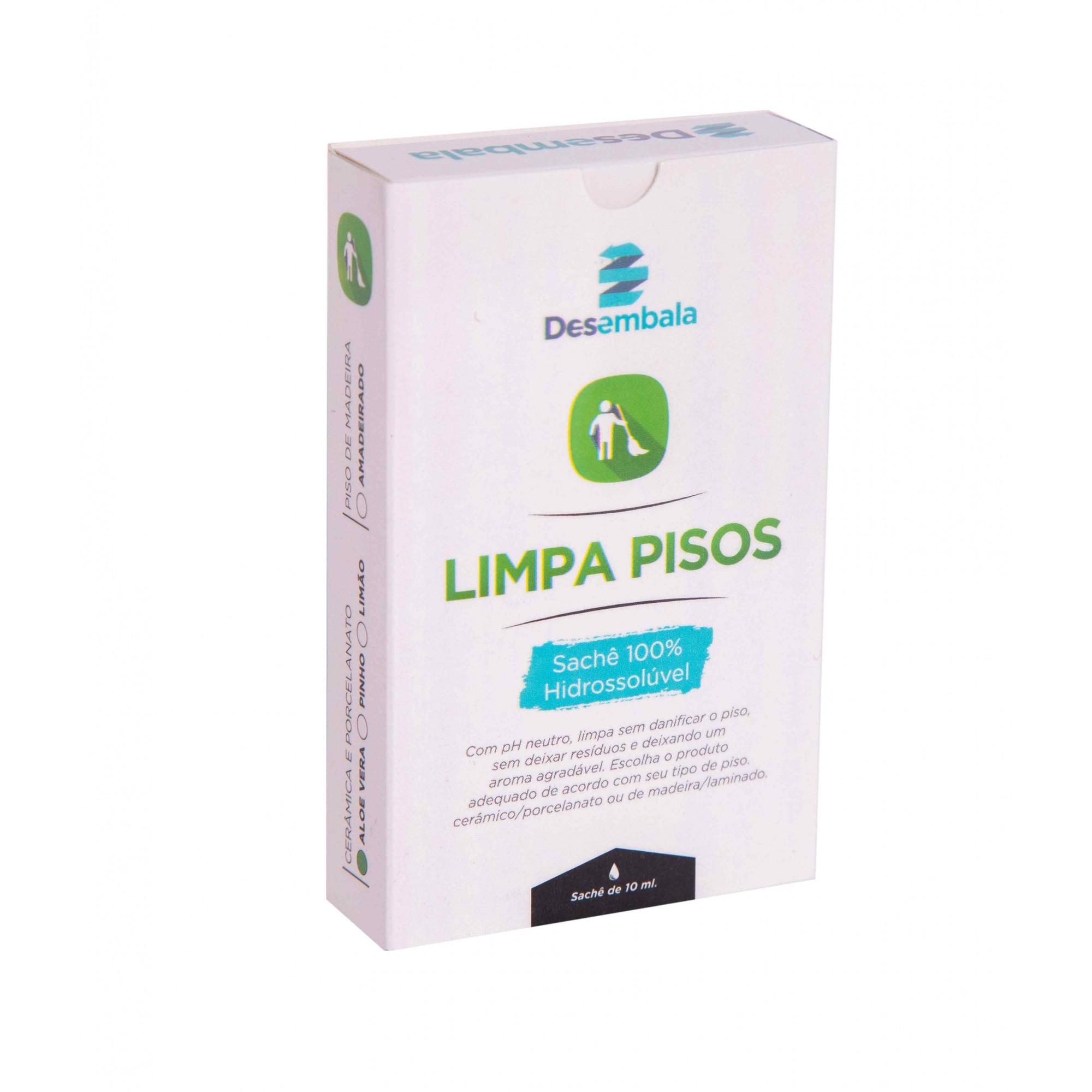 Kit Produtos de Limpeza (Multiuso, Limpa Banheiro, Limpa Piso)