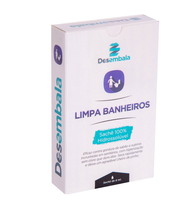 Limpa Banheiro Ecológico  Hidrossolúvel (3un)