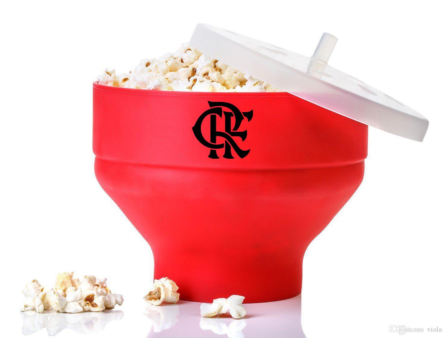 Pipoqueira de Silicone Para Microondas do Flamengo