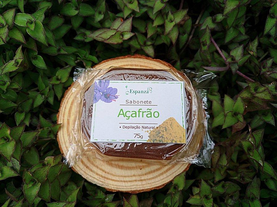 Sabonete de Açafrão Depilação Natural