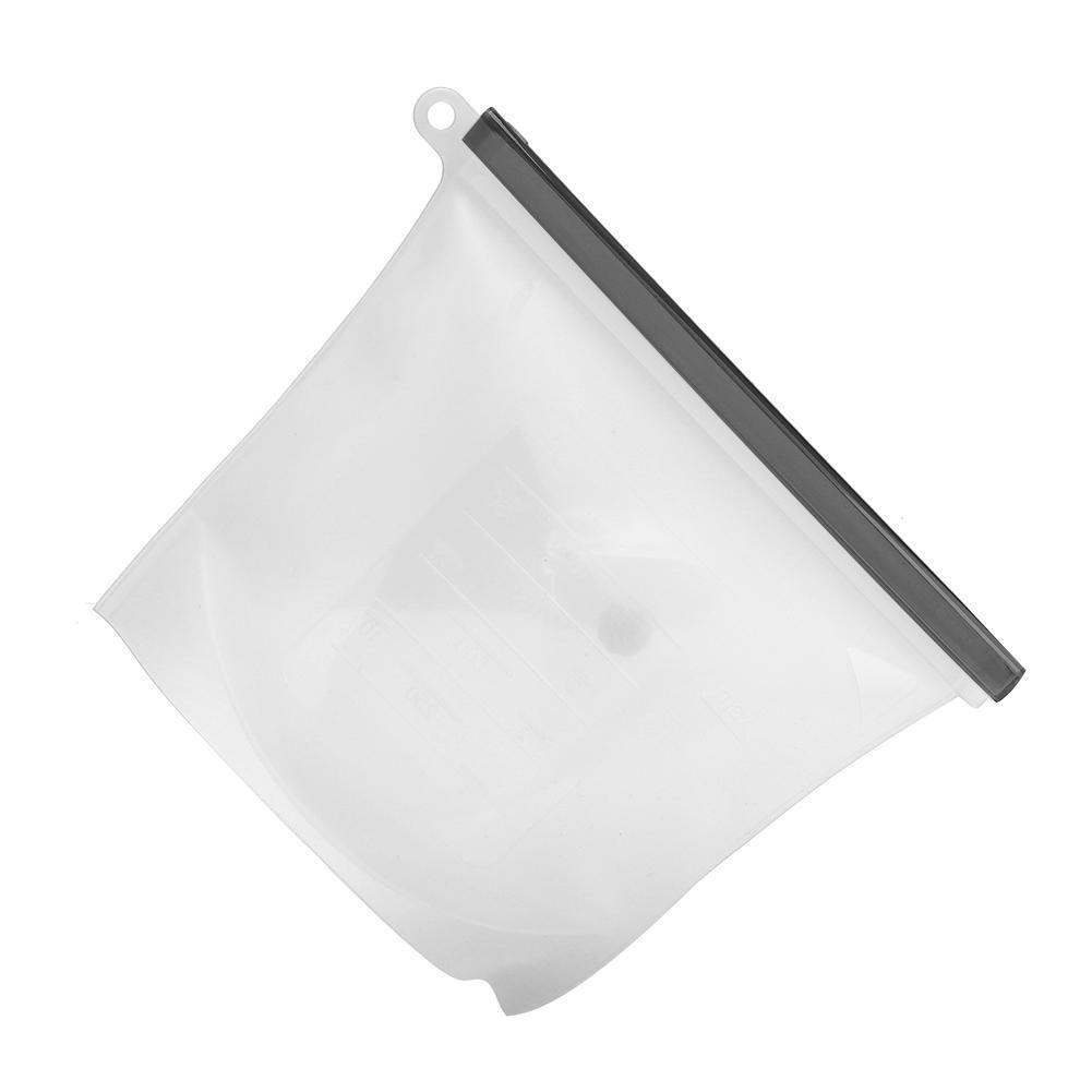 Saco Silicone Reutilizável 1500ml Avulso