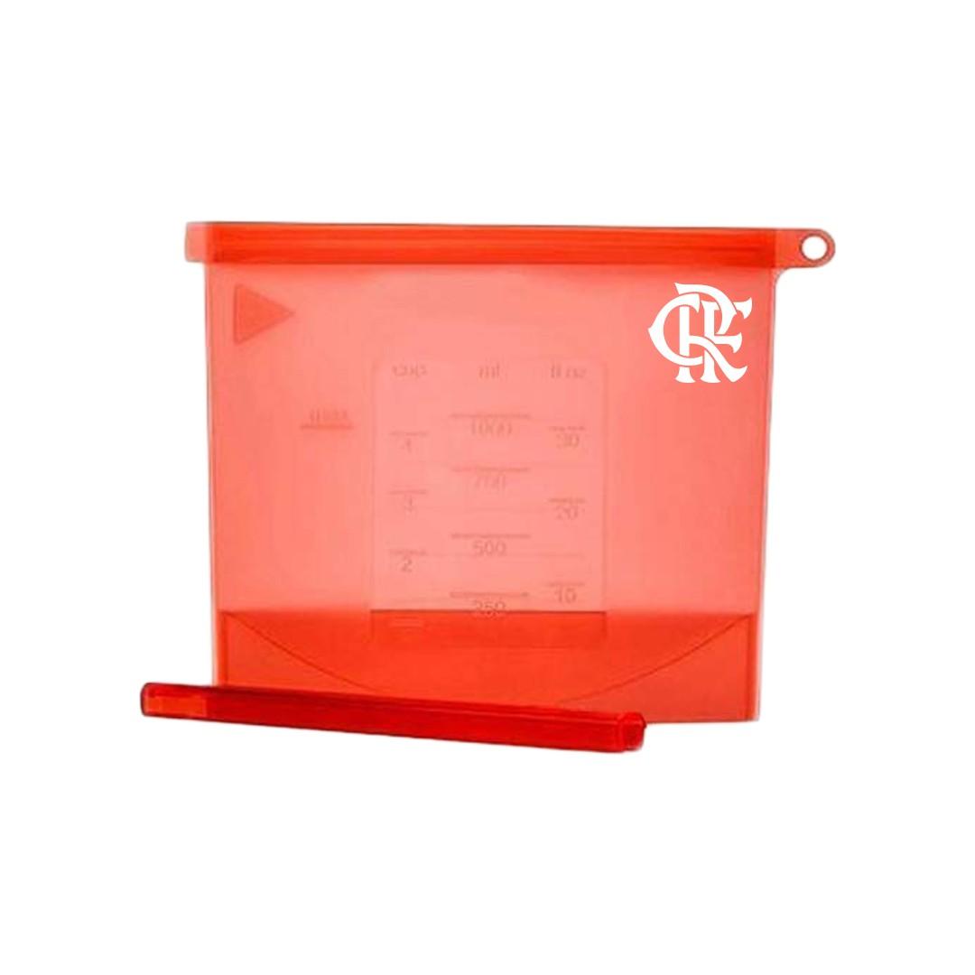 Saco Silicone Reutilizável do Flamengo 1000ml