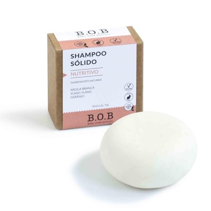 Shampoo em Barra Nutrição