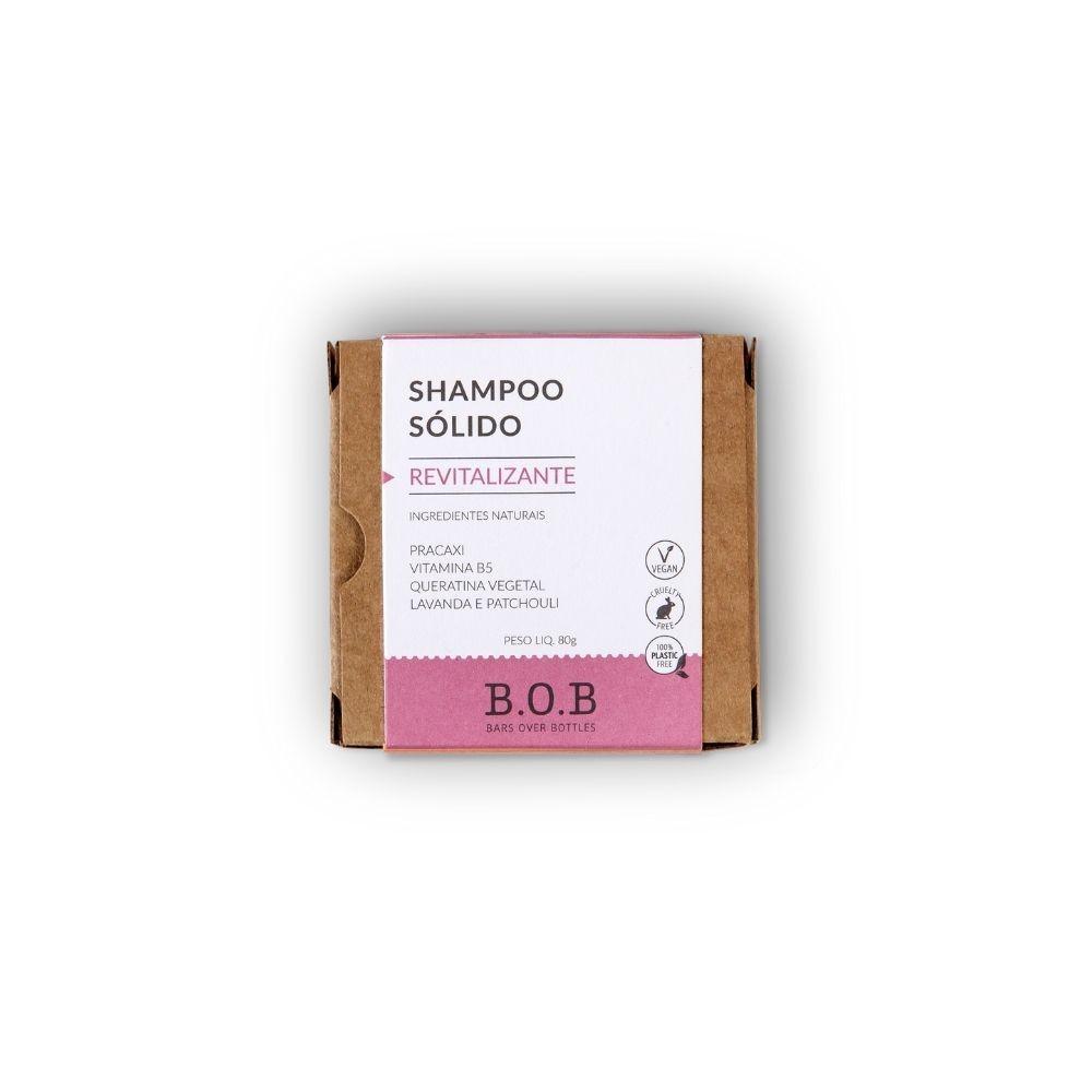 Shampoo em Barra Revitalizante