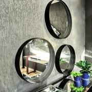 Conjunto Espelho Decorativo LIP UD Luxo