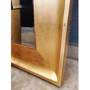 Espelho com Moldura Dourada Imperial UD 2066.9003