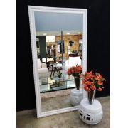 Espelho com Moldura Imperial Branca-2 UD 3027.8411