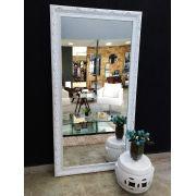 Espelho com Moldura Imperial Branca UD 397.200