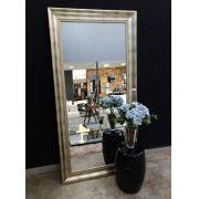 Espelho com Moldura Sombreada Prata UD 354.12