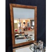 Espelho Moldura Rustica Dourada UD 2248.235.