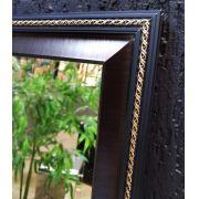 Espelho Moldura trançado dourado UD 3036.9178