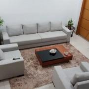 Mesa de Centro de Madeira Seven Classic