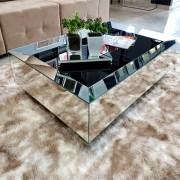 Mesa de Centro Espelhada Dubai