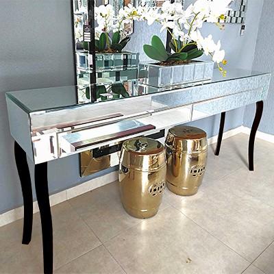 Aparador Espelhado Versalles Luxo  - Universo Decor Móveis e Decoração