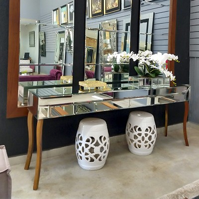 Aparador Espelhado Versalles Luxo