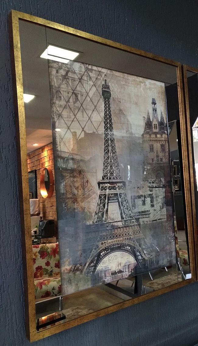 Conjunto de Quadros Paris e NY