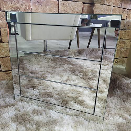 Criado-Mudo Espelhado Classic- A60  - Universo Decor Móveis e Decoração