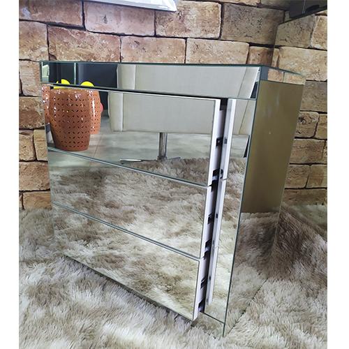 Criado-Mudo Espelhado Classic- A70  - Universo Decor Móveis e Decoração
