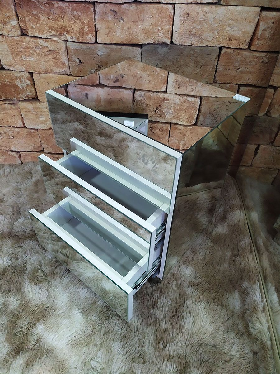 Criado-Mudo Espelhado Slim - A50