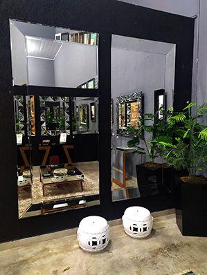 Espelho Decorativo de Parede Doble Silver