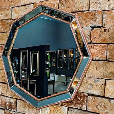 Espelho Decorativo De Parede Hl 14319