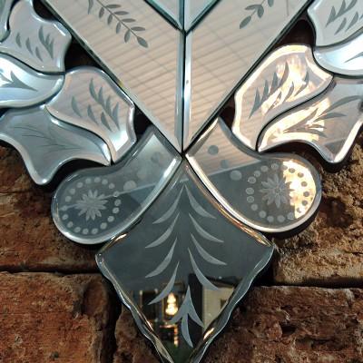 Espelho Decorativo De Parede Veneziano GJ 491